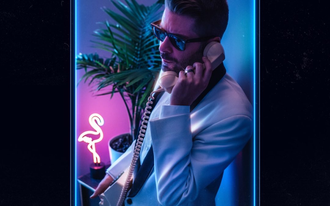 Michael's inward-looking gift to the synthwave world